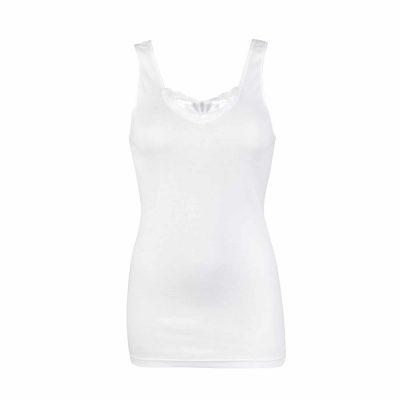 Beeren dames hemd Brenda wit