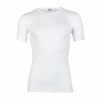 Beeren heren T-shirt ronde hals wit