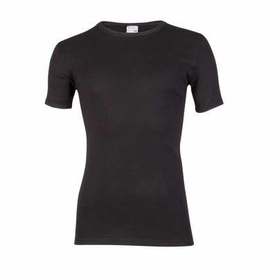 Beeren heren T-shirt ronde hals zwart