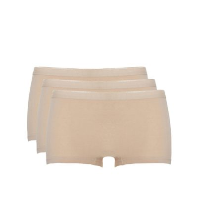 Ten Cate dames short beige 3-pack
