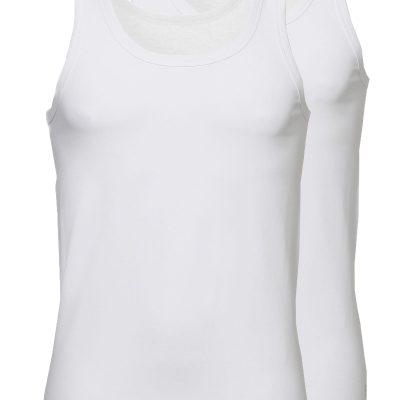 Ten Cate Heren hemd 2-pack wit