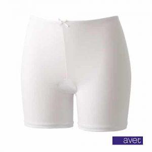 AVET dames short met lange pijp wit