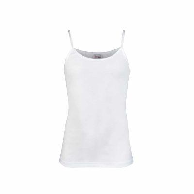 Meisjes hemd Britney wit