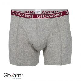 Giovanni heren boxershort grijs
