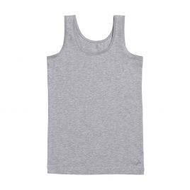 Meisjes hemd grijs