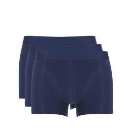 Boxershort blauw/navy 3 pack korte pijp