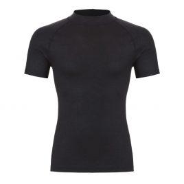 Thermoshirt korte mouw zwart